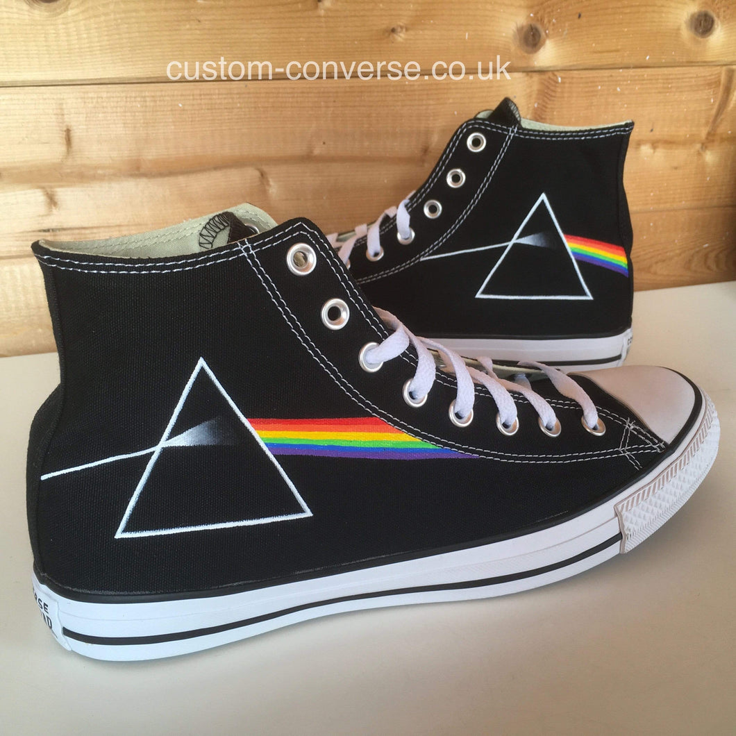 Pink Floyd Dark Side of the Moon - Custom Converse Ltd.