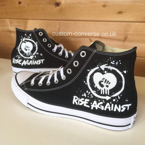 Rise Against - Custom Converse Ltd.