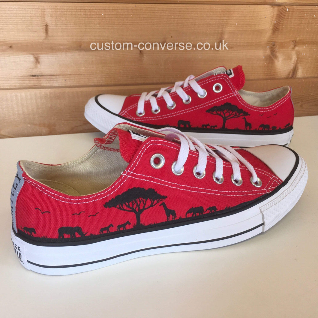 Safari Silhouette - Custom Converse Ltd.