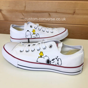 Snoopy & Woodstock - Custom Converse Ltd.
