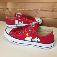 Load image into Gallery viewer, Snoopy & Woodstock - Custom Converse Ltd.