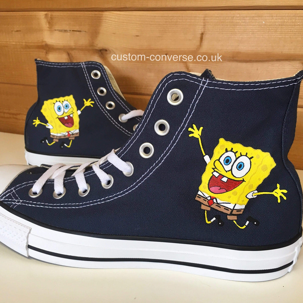 Spongebob Squarepants - Custom Converse Ltd.