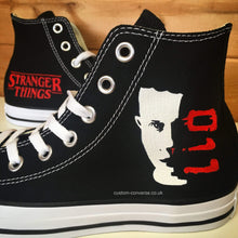 Load image into Gallery viewer, Stranger Things Eleven - Custom Converse Ltd.