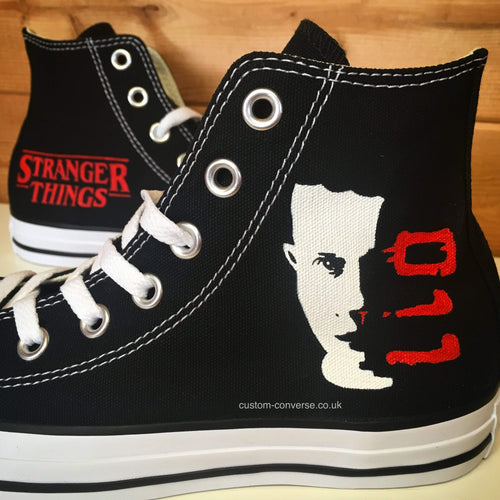 Stranger Things Eleven - Custom Converse Ltd.