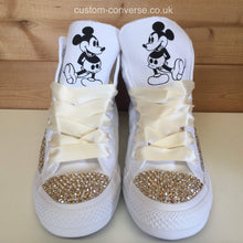 Load image into Gallery viewer, Swarovski Mickey Mouse - Custom Converse Ltd.