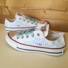 Load image into Gallery viewer, Swirled Initials - Custom Converse Ltd.