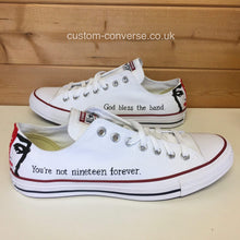 Load image into Gallery viewer, The Courteeners St. Jude - Custom Converse Ltd.