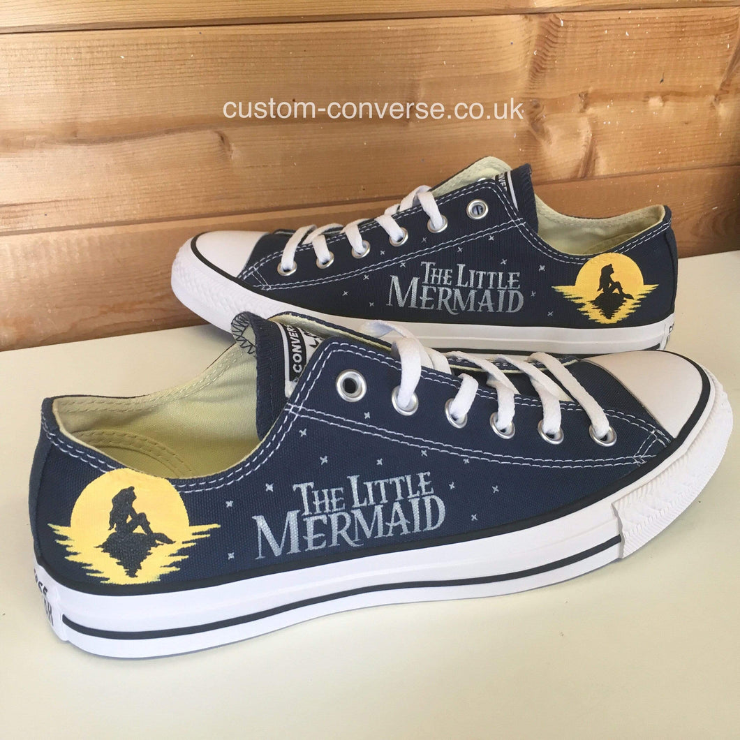 The Little Mermaid - Custom Converse Ltd.