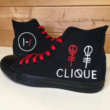 Load image into Gallery viewer, Twenty One Pilots Clique - Custom Converse Ltd.