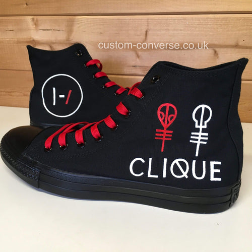 Twenty One Pilots Clique - Custom Converse Ltd.