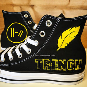 Twenty One Pilots Trench - Custom Converse Ltd.