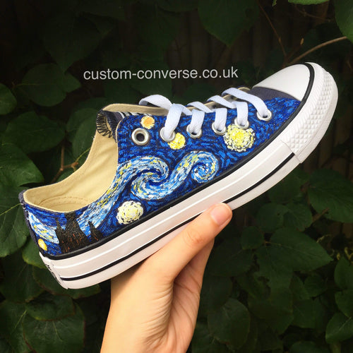 Van Gogh Starry Night - Custom Converse Ltd.