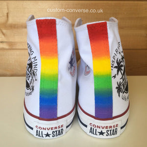 Extra Heel Colour Rainbow - Custom Converse Ltd.