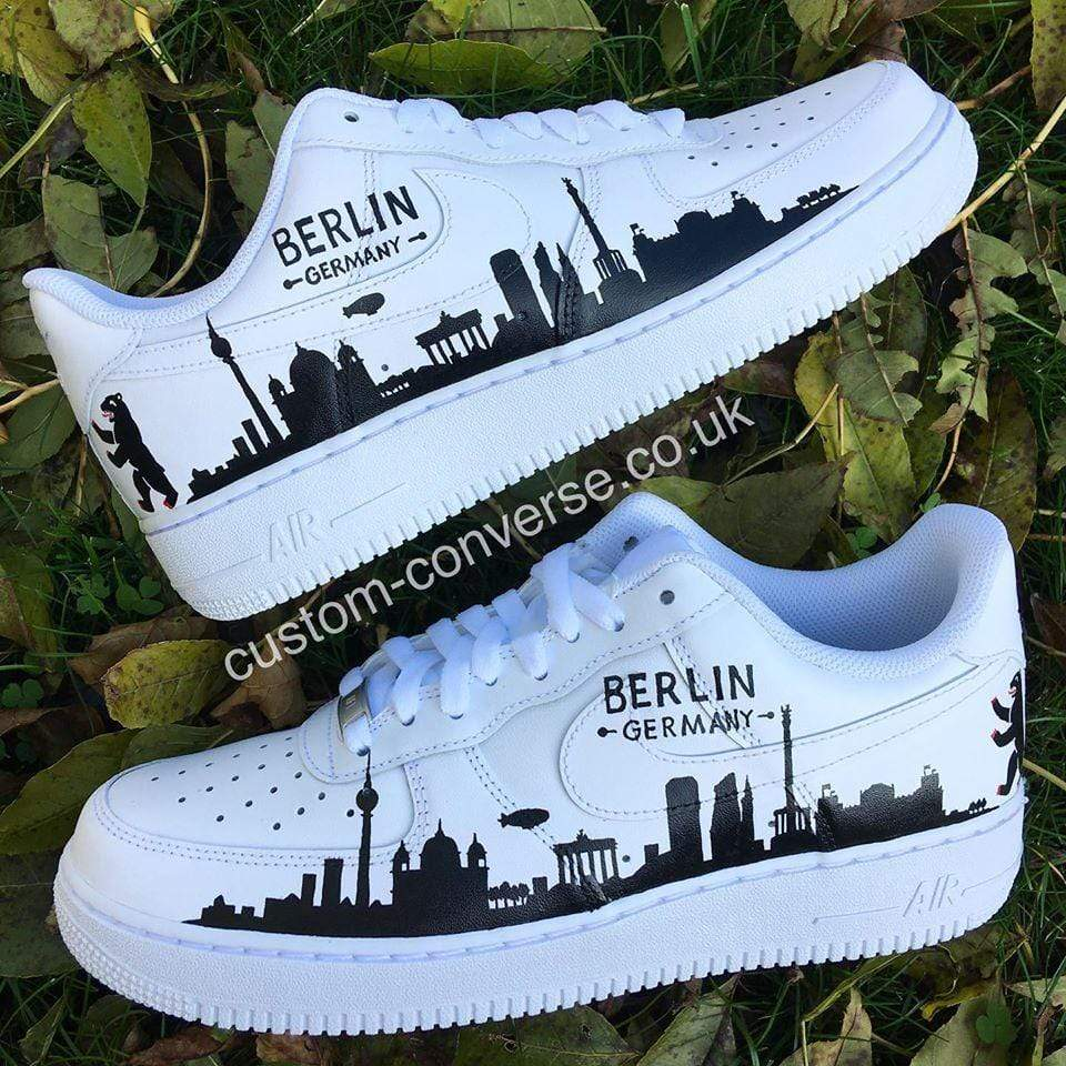 Berlin Skyline Silhouette - Custom Converse Ltd.