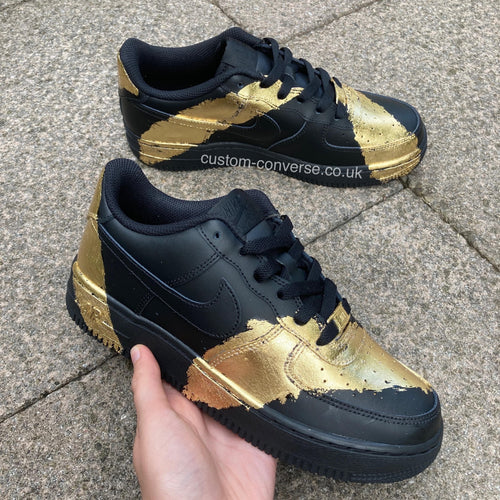 Brushed Gold Leaf - Custom Converse Ltd.