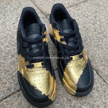 Load image into Gallery viewer, Brushed Gold Leaf - Custom Converse Ltd.