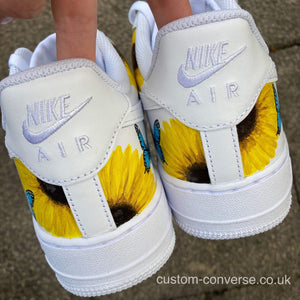 Nike Nature Sunflowers and Butterflies