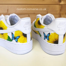 Load image into Gallery viewer, Nike Nature Sunflowers and Butterflies
