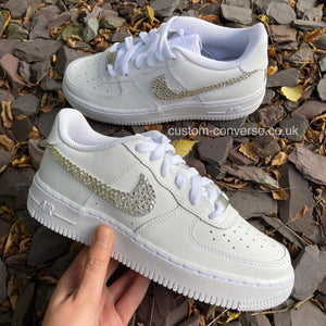 Nike Wedding Swarovski Swoosh
