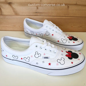 Minnie & Mickey - Custom Converse Ltd.