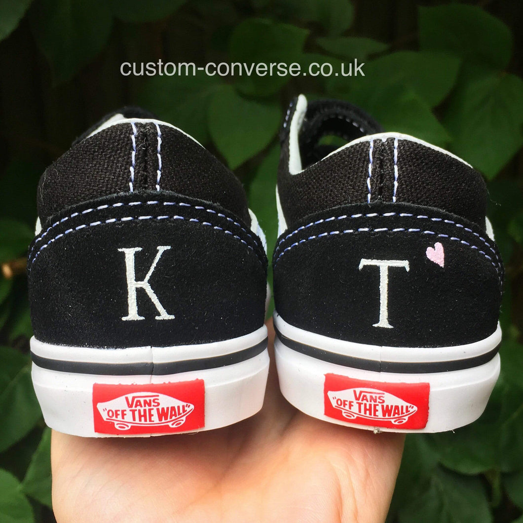 Personalised Initials - Custom Converse Ltd.