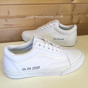 Personalised Vans - Custom Converse Ltd.