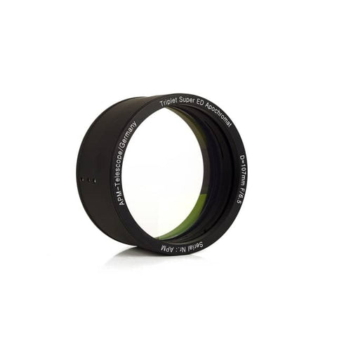 APM Apo 107mm f/6.5 Lens in Cell APM-107-700-T