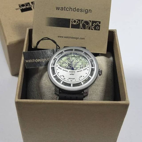 Image of APM WatchDesign Planisphere Watch WD-KWI/Star