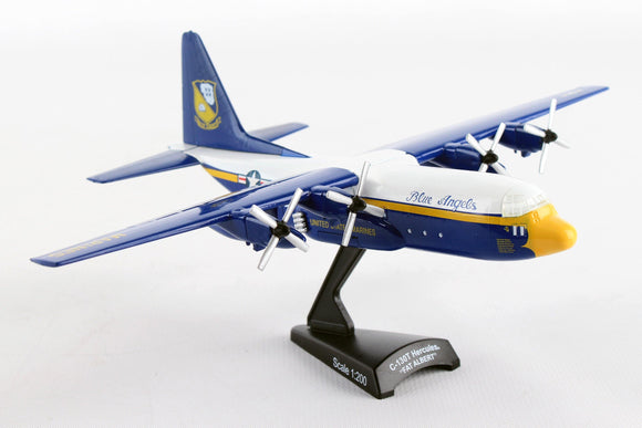 PS5330-2 POSTAGE STAMP C-130 HERCULES FAT ALBERT BLUE ANGELS 1/200 - postagestampairplanes.com