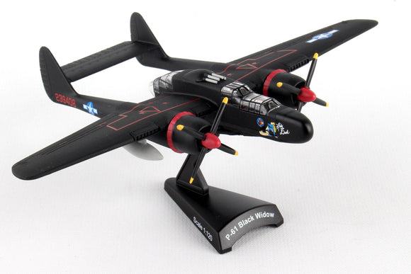 PS5334-2 POSTAGE STAMP P-61 BLACK WIDOW LADY IN THE DARK 1/120 - postagestampairplanes.com