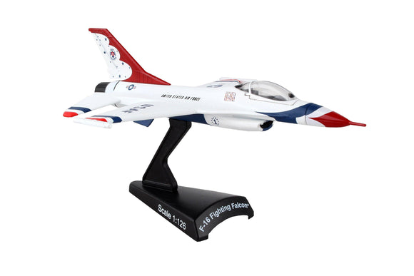 PS5399-2 POSTAGE STAMP THUNDERBIRDS F-16 FIGHTING FALCON® 1/126 - postagestampairplanes.com