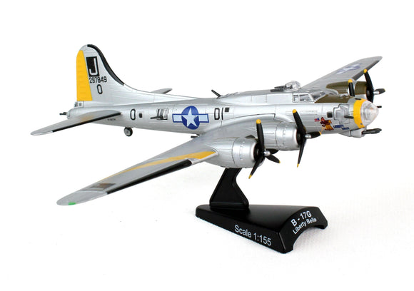 PS5402-2 POSTAGE STAMP B-17 FLYING FORTRESS LIBERTY BELLE 1/155 - postagestampairplanes.com