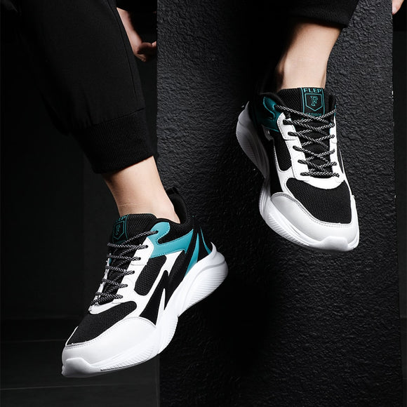 Men's shoes winter 2019 work shoes sneakers comfortable Mixed color schuhe herren thicken sole tennis masculino breathable shoes