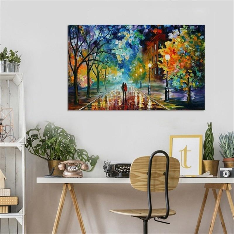 Romantic Canvas Art Print Oil Painting Wall Pictures Wall Art Home Decor Painting