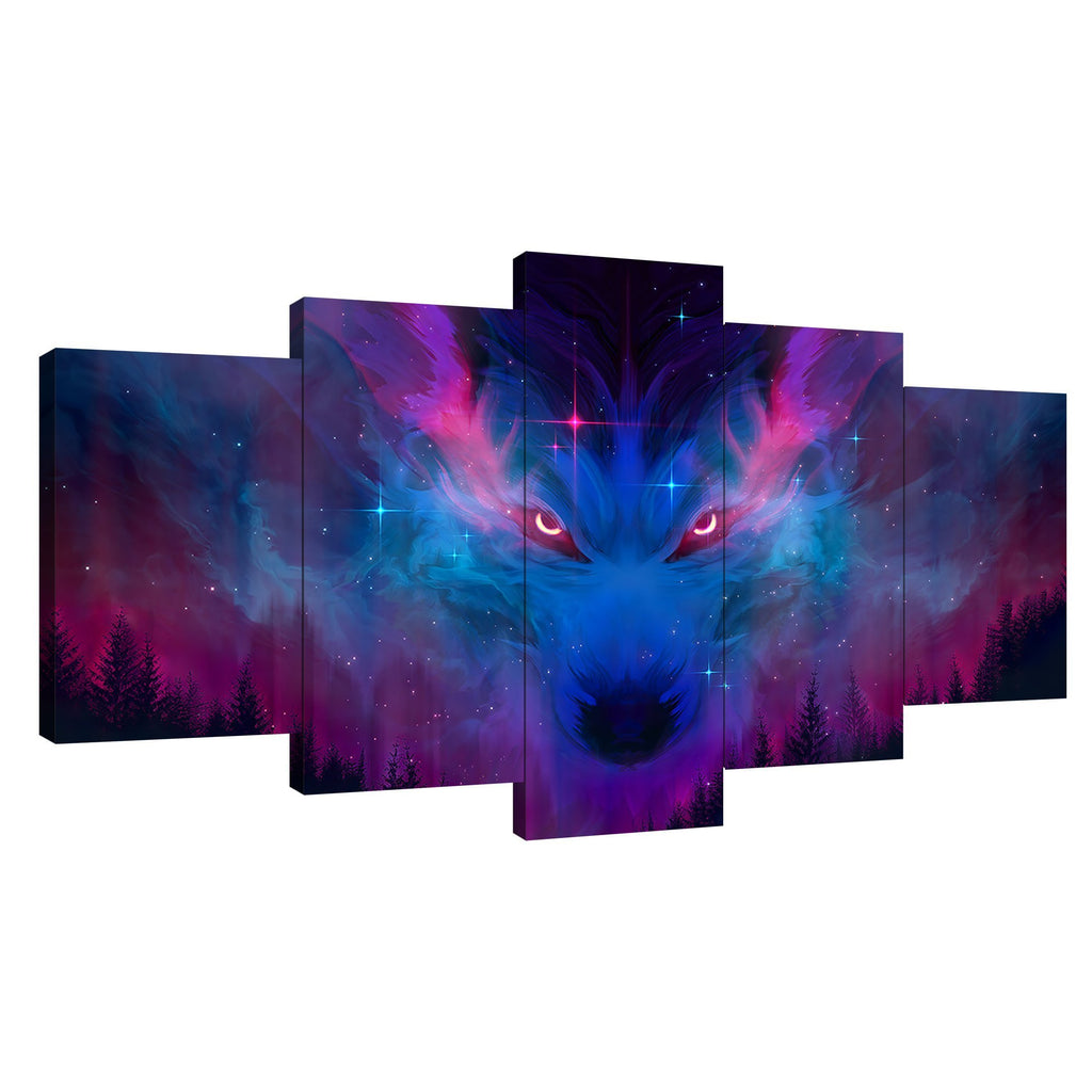 Night King Wolf HD Modern Home Wall Decor Photography Canvas Print Oil Painting Wall Art Picture House Decoration Posters