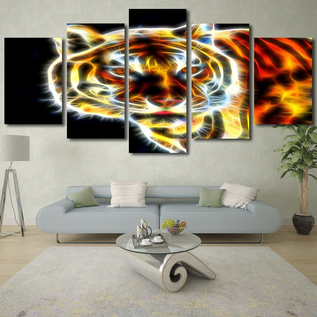 Tiger Animals art HD Modern Home Wall Decor Photography Canvas Print Oil Painting Wall Art Picture House Decoration Posters