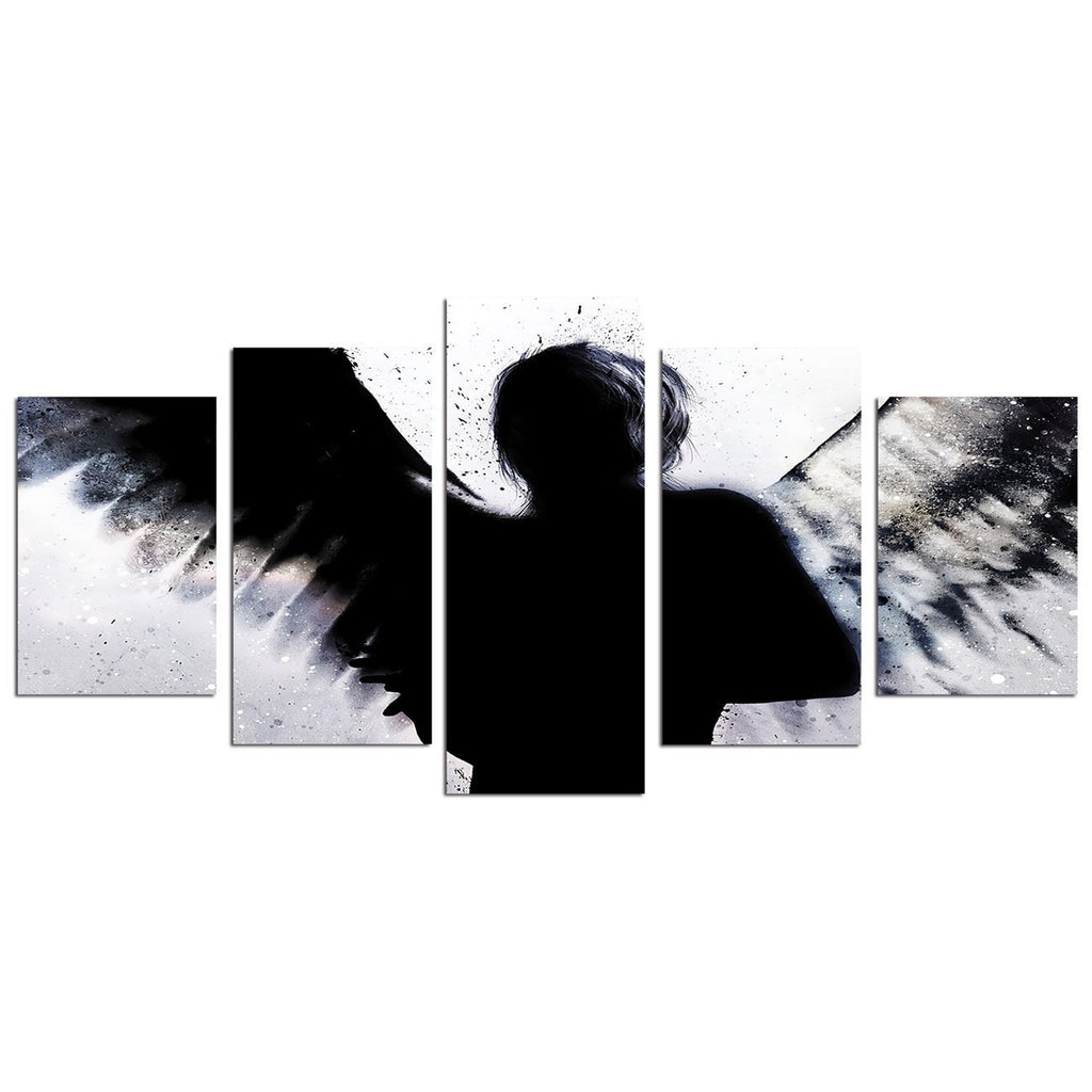 Wings Black and White HD Modern Home Wall Decor Photography Canvas Print Oil Painting Wall Art Picture House Decoration Posters