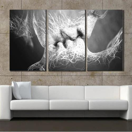 Abstract Art Love Kiss Canvas Painting Pictures For Living Room Wall Modern Canvas Art Prints Posters Decorative Paintings