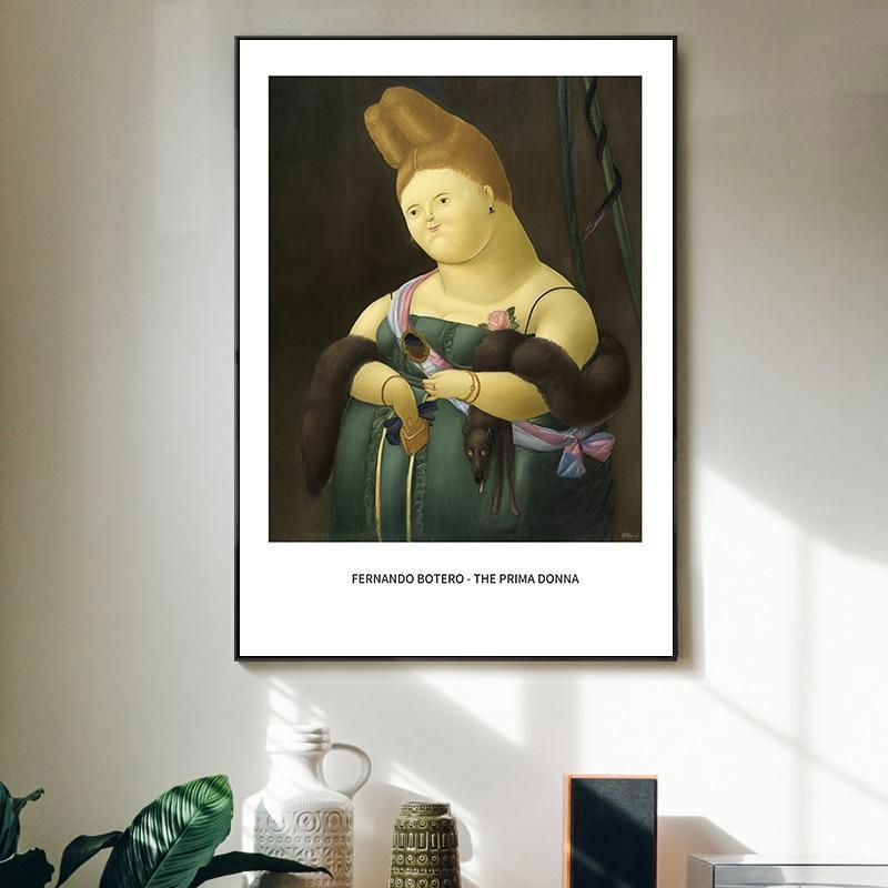 World Famous Paintings Collection Funny Mona Lisa Canvas Print Painting Poster Art Wall Pictures Living Room Home Decoration