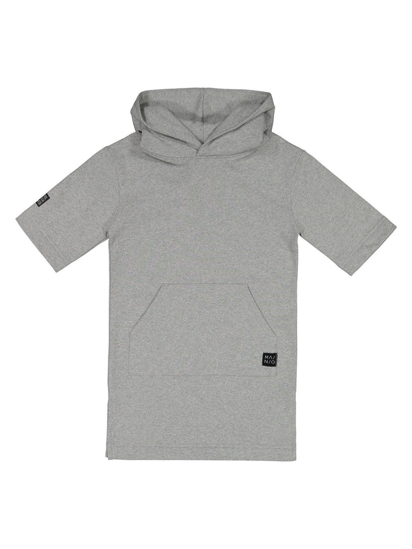 Pure Sweat Hoodie, light grey melange