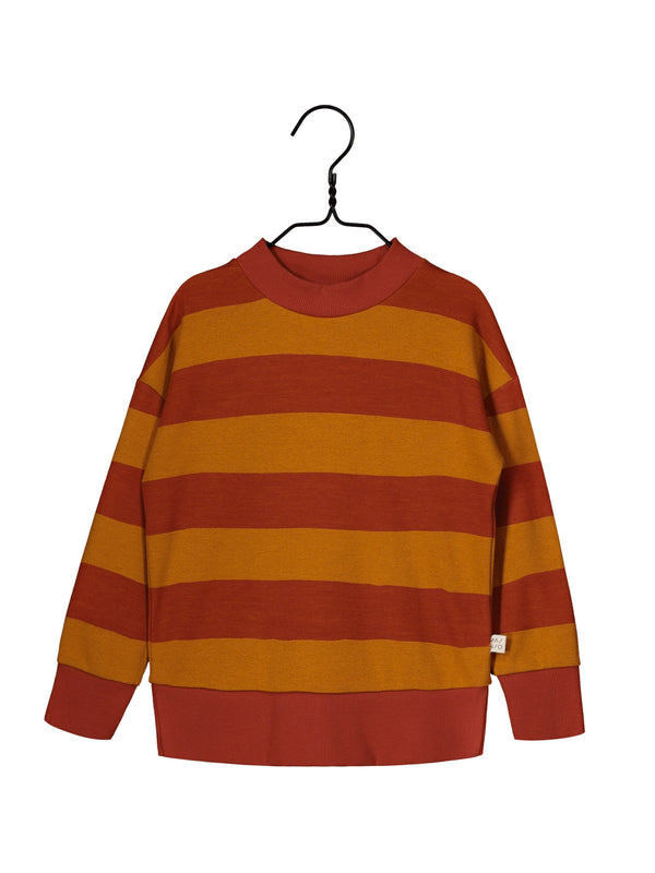 Field Knit Shirt, Paprika/Turmeric