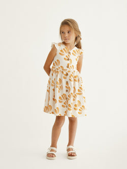 Anemone Button Dress