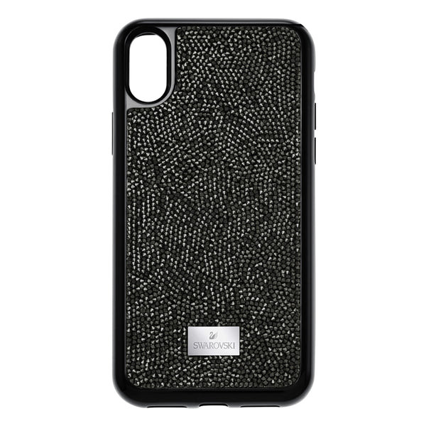 Funda para smartphone con protección integrada Glam Rock, iPhone® X/XS, negro
