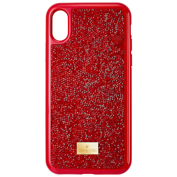 FUNDA PARA SMARTPHONE GLAM ROCK, IPHONE® X/XS, ROJO
