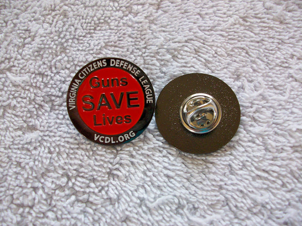 Guns Save Lives Lapel Pin