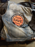 "My 'Cool' Biker Vest with a 10"" Patch!"