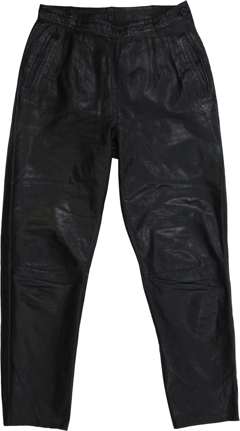 80s Leather Pants