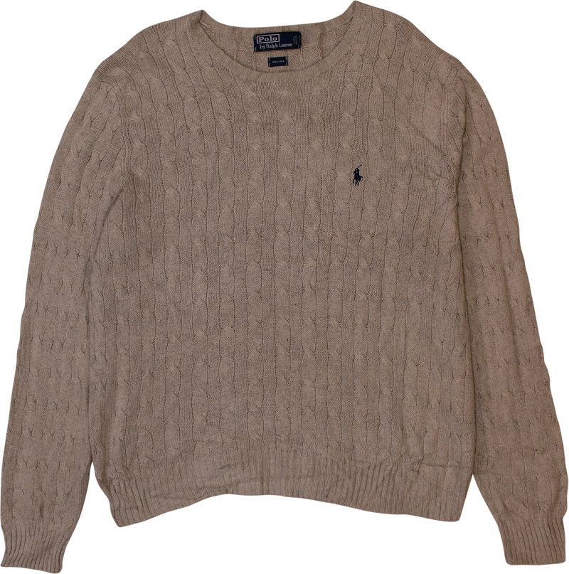 Pure Silk Jumper by Ralph Lauren