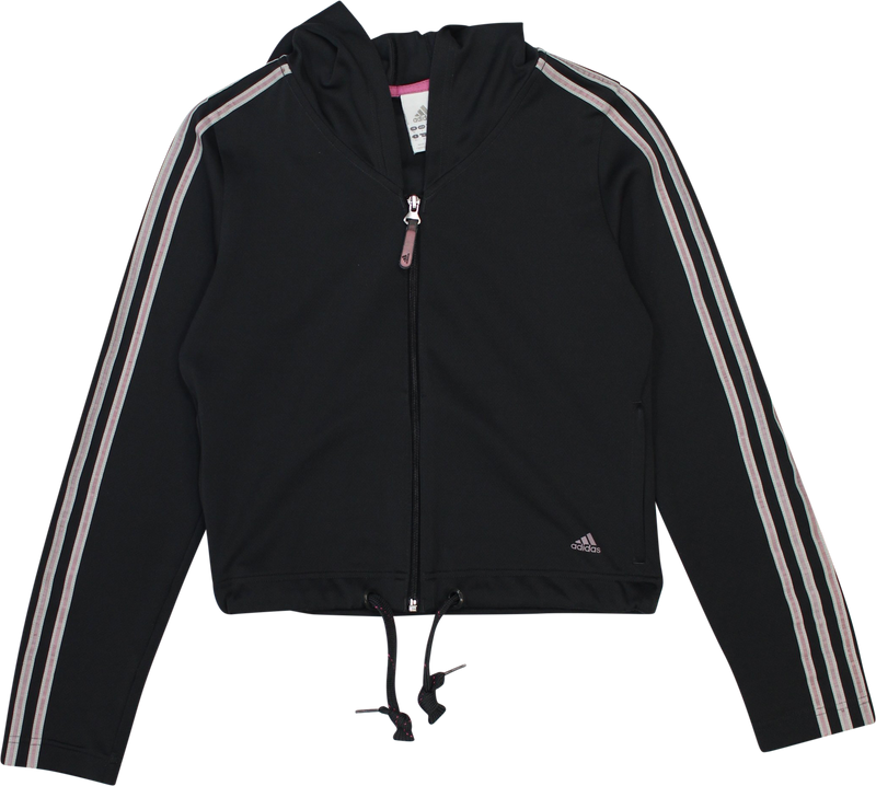 Sport Jacket with Hoodie by Adidas