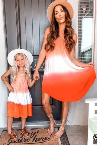 Mommy and Me Ombré dress